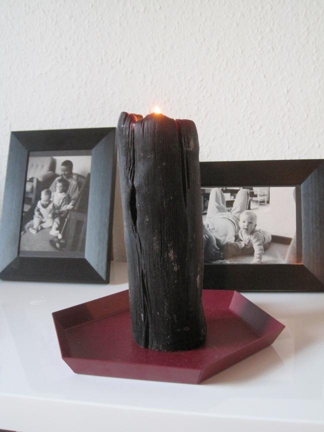coal candle